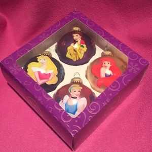 Set of Disney Princess Ornaments